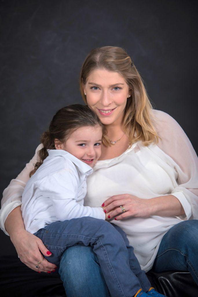 צילומי הריון -אם ובת