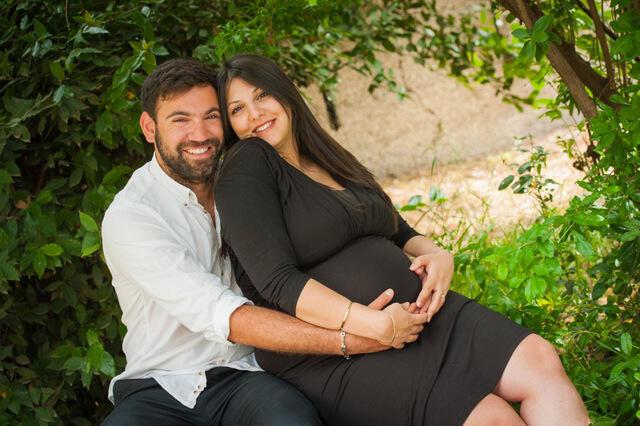 צילום הריון בטבע - עידן ומורן