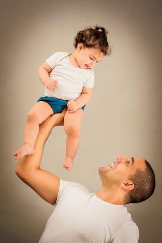 צילום תינוקות בסטודיו - אב מרים בן