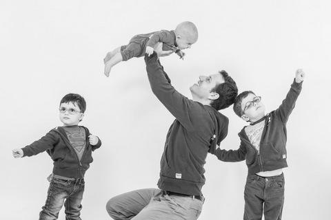 צילום משפחתי בסטודיו