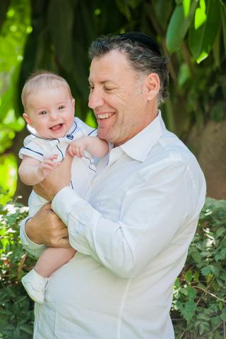 צילומי תינוקות עם סבא