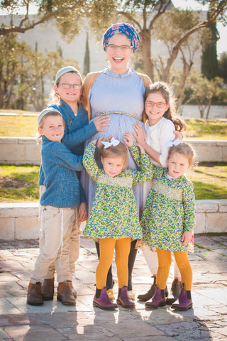 צילומי משפחות - אם וילדיה