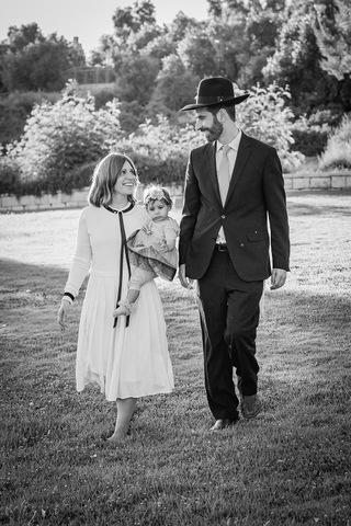 צילום משפחתי בשחור לבן