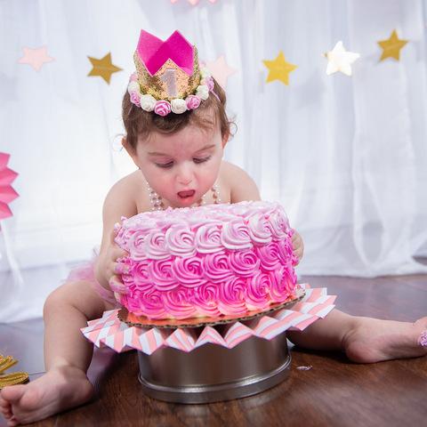 צילומי קייק סמאש - עוגה לבנות