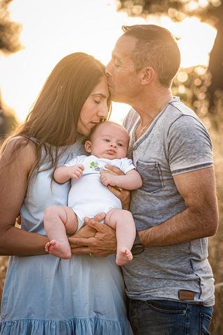 ניו בורן עם ההורים בטבע