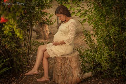 צילום הריון - אם בטבע