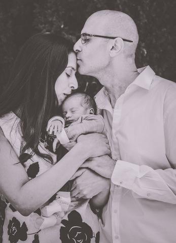 צילומי ניו בורן עם אמא ואבא