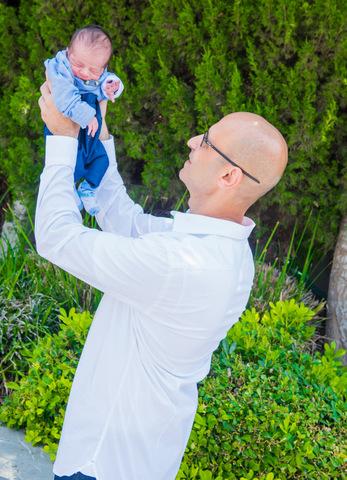 צילומי ניו בורן עם אבא בטבע